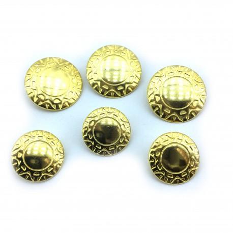 Złoty aztecki wzór