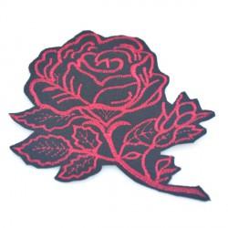 Róża na czarnym tle 100x132 mm