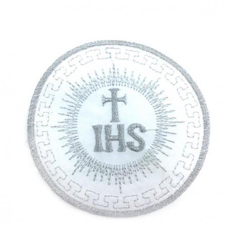 Aplikacja IHS 80 mm srebro