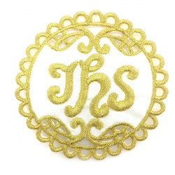 Aplikacja IHS 74 mm złota