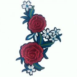 Róże z kwiatami 200 x 143 mm