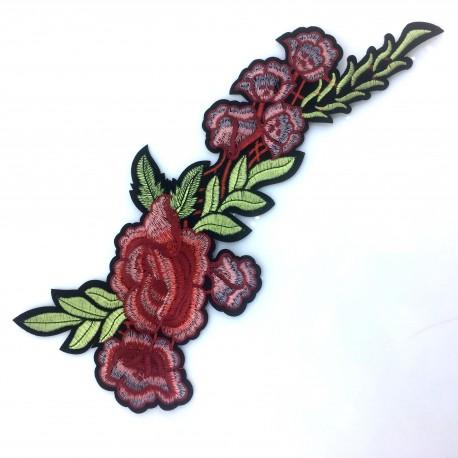 Aplikacja Róże duże 35 x 15,5 cm