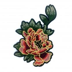 Kwiat 18 x 11,2 cm ze złotym wykończeniem
