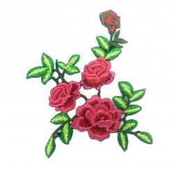 Kwiaty malinowe 15,8 x 14,2 cm