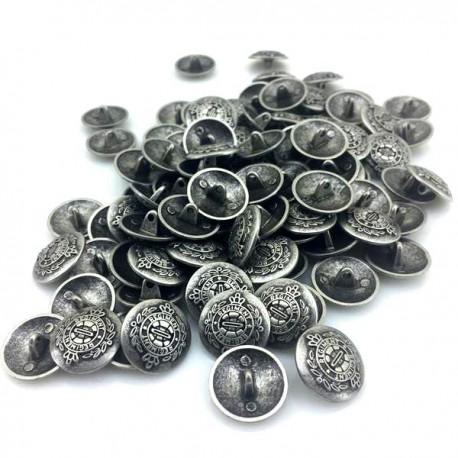 metal srebro military