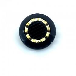 Guzik czarno-złote Oko