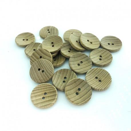 Guzik drewniany klasyczny 28 mm