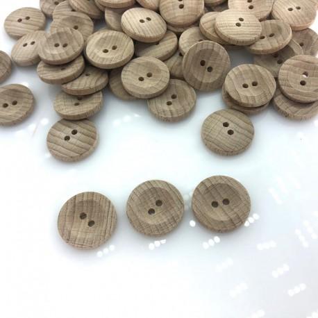 Guzik drewniany klasyczny 19 mm