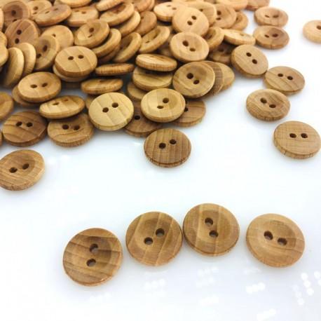 Guzik drewniany klasyczny 15 mm