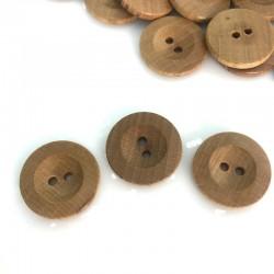 Guzik drewniany klasyczny 26 mm