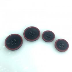 Klasyczny garniturowy Granatowy + czerwony
