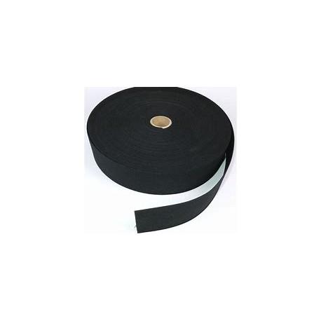 Guma 40 mm czarna/biała 25 mb