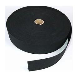 Guma 45 mm czarna/biała 25 mb
