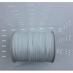 Guma odzieżowa 4 mm 150 MB BIAŁY gumka