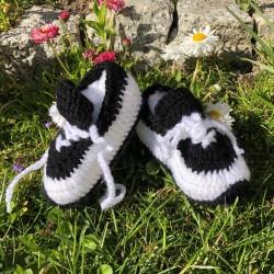 buciki adidaski Biały/czarny, 11-12 cm