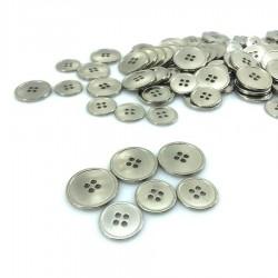 Metalowy srebrny klasyczny