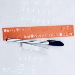 Długopis znikający + szablon