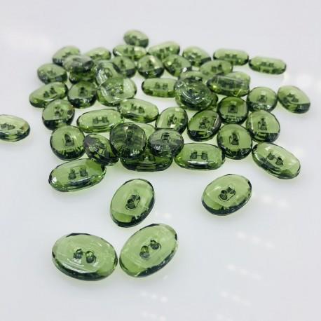 Zielony guzik jak perydot