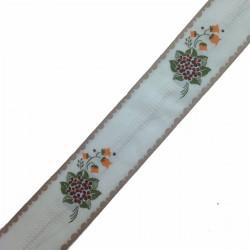 Taśma haft 5 cm bukiet kwiatów