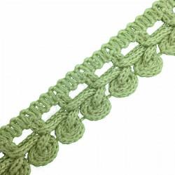 Taśma 2,5 cm zielony