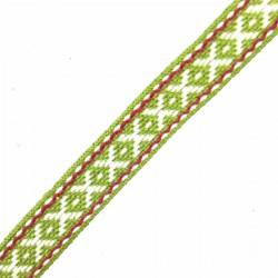 Taśma 1,5 cm zielona X
