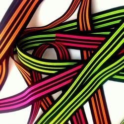 Guma dziana 21 neon w paski